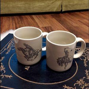 🦋2/$10 3/$15 4/$18 5/$20 Vintage Rodeo Mugs